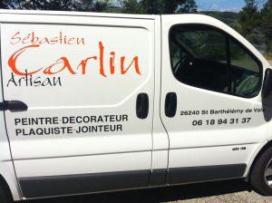 Sébastien Carlin, plaquiste peintre en Drôme et Ardèche
