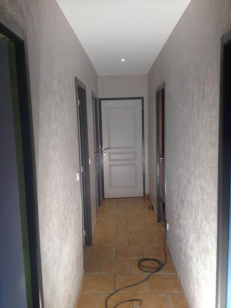 Peinture de couloirs Sébastien Carlin plaquiste peintre en ...